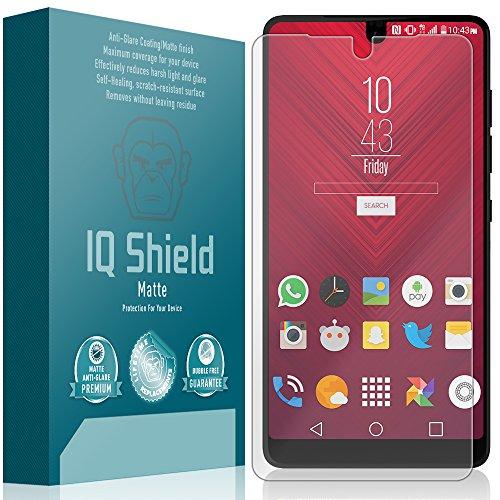 Essential Phone Screen Protector, IQ Shield Matte Full Coverage Anti-Glare Screen Protector for Essential Phone (PH-1) Bubble-Free Film