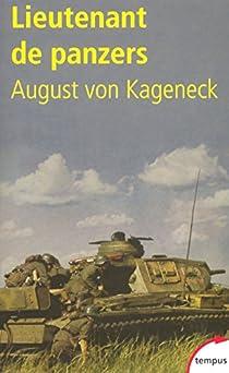 Lieutenant de panzers par von Kageneck