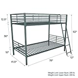 DHP Tailor Convertible Bunk bed, Converts to two