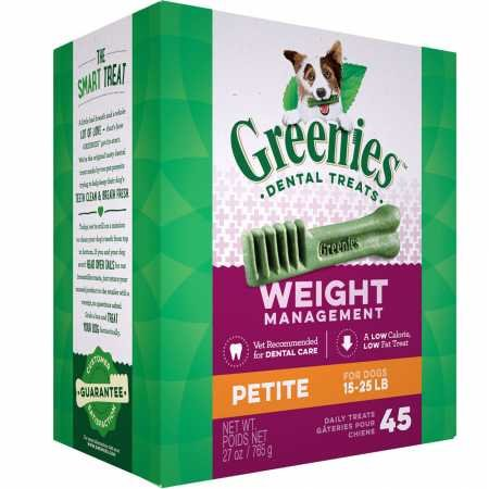 (Greenies Weight Management Treatpak Petite (27 Oz))