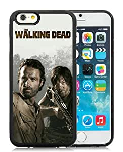 Hot Sale iPhone 6/iPhone 6S 4.7 Inch TPU Case ,The Walking Dead 25 Black iPhone 6/iPhone 6S Cover Unique And High Quality Designed Phone Case