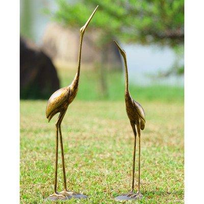 SPI Crane Pair Statue