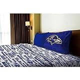 NFL Anthem Baltimore Ravens Bedding Sheet Set: Twin