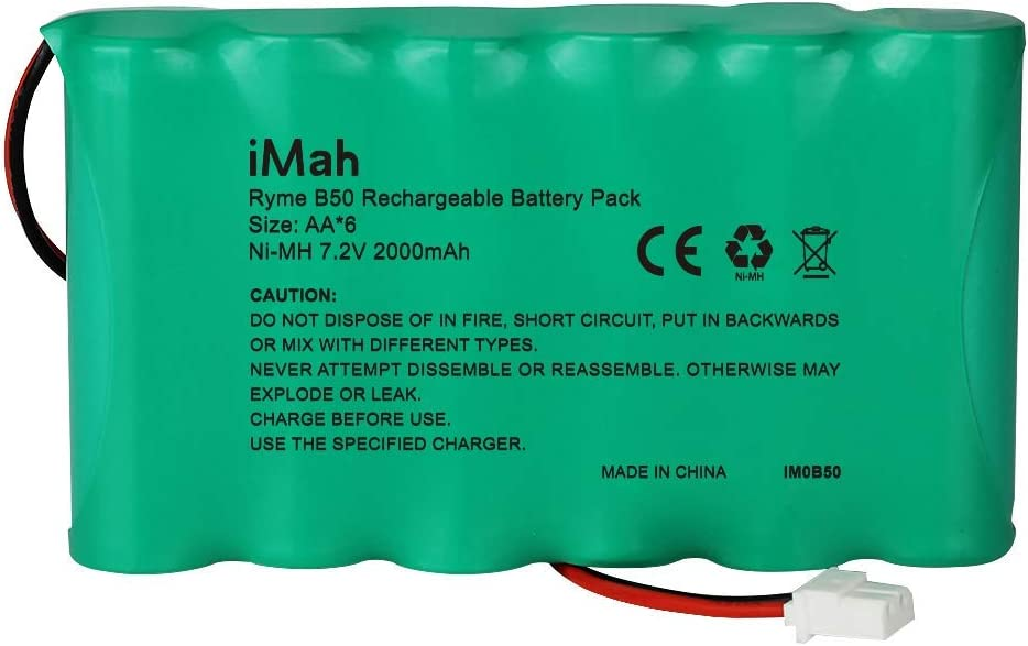 Bateria AA 6-Cell 2000mAh 7.2V con conector 5264 Plug