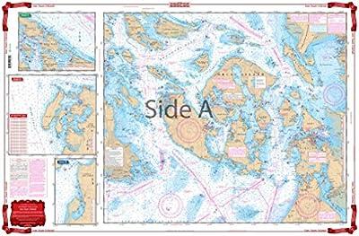 Waterproof Charts, Standard Navigation, 43 San Juan Islands from Waterproof Charts