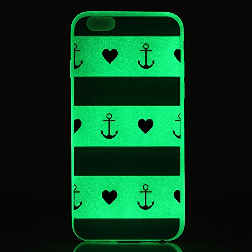 Coque Etui iPhone 6 / 6S Plus , Leiai Mots De La Parole Silicone Gel Case Avant et Arrière Intégral Full Protection Cover Transparent TPU Housse Anti-rayures pour Apple iPhone 6 / 6S Plus