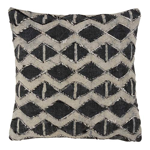 Down Filled Cotton Throw Pillow