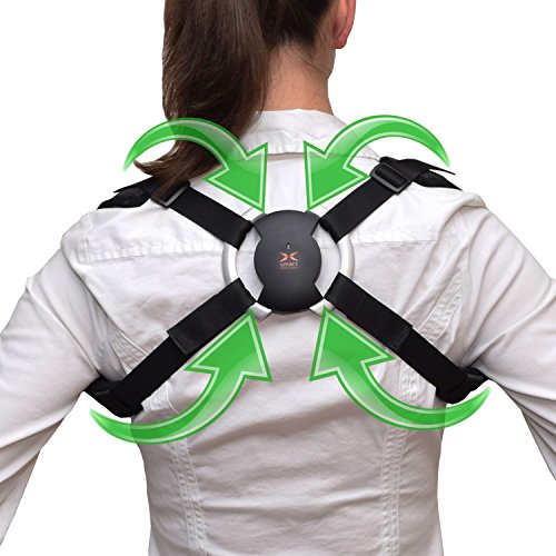 Posture Corrector – Smart Back Brace – Corrects Hunching & Slouching by using patented sensor technology – Vibrates when bad posture is detected – free app works on iPhone & Android. - Googleplay Download