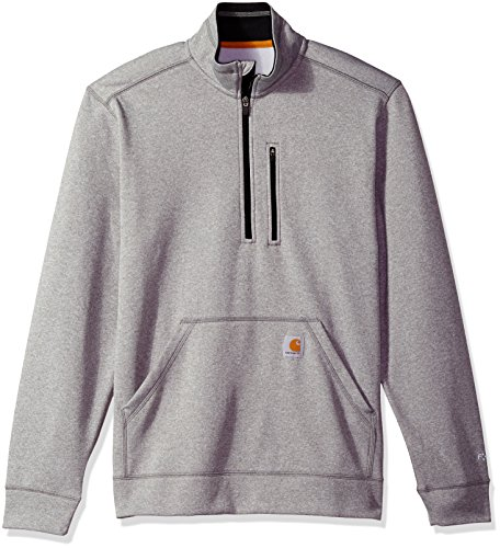 Lined Mock Zip Pullover - 3
