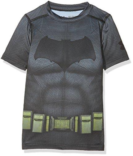 Under Armour Junior Batman T-Shirt - SS17 - Small - Black (Na Na Na Na Batman T Shirt)