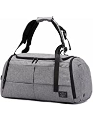Gym Bags 22L Canvas Travel Duffel Bag Waterproof Travel Bag with Shoes Compartment
