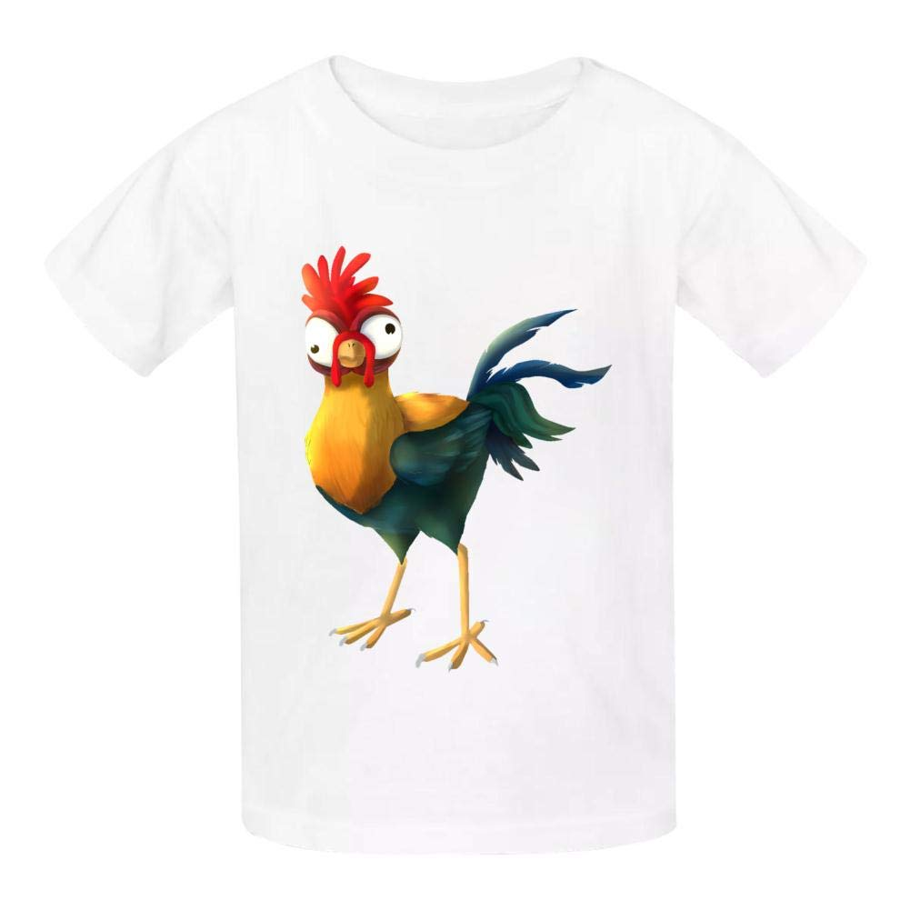 Della Graham Poultry Children and Adolescent 3D Printed Outdoor Short-Sleeved T-Shirt