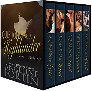 book cover of Questions for a Highlander Series: Volumes 1-5