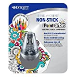 Westcott iPoint Orbit Electric Pencil Sharpener, Gray (pack of 6)