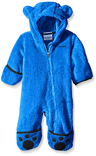 Fleece Bunting - Columbia Baby Boys' Foxy Baby II Bunting, Super Blue/Collegiate Navy, 18-24 Months