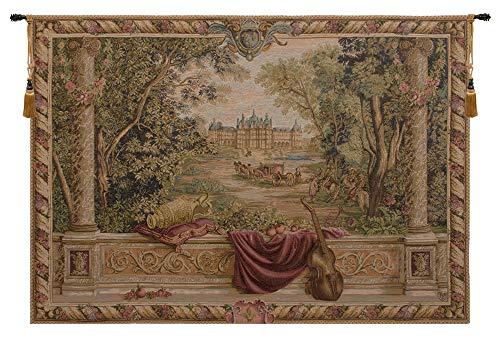 Verdure Au Chateau II,French Tapestry, - Medium: 74.00