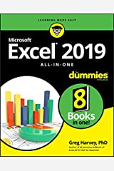 Excel 2019 All-in-One For Dummies Paperback