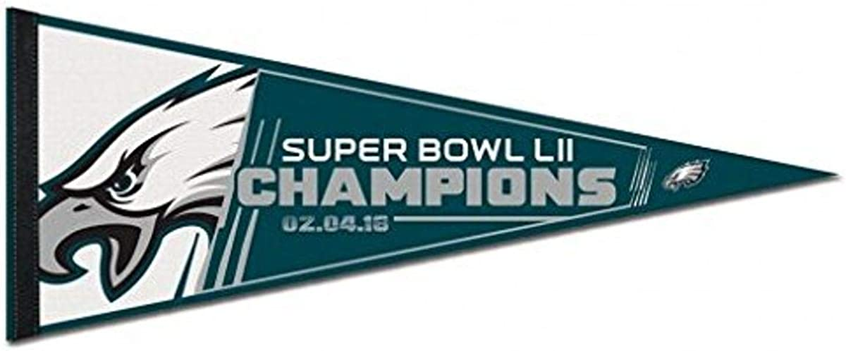 NFL Philadelphia Eagles Super Bowl LII Champions Pennant