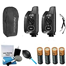 PocketWizard Plus X Power Transceiver (Pair) + Accessory Pack (5 items)