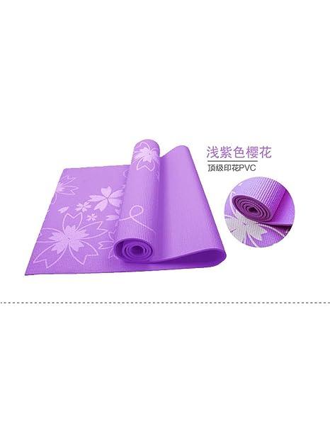 ZLJPP Esterilla De Yoga Verde 6 Mm PVC Estera De Yoga para ...