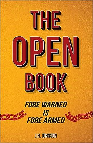 the open book j h johnson 9781936759422 amazon com books