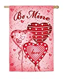 Evergreen Be Mine Balloons Suede House Flag, 29 x 43 inches Review