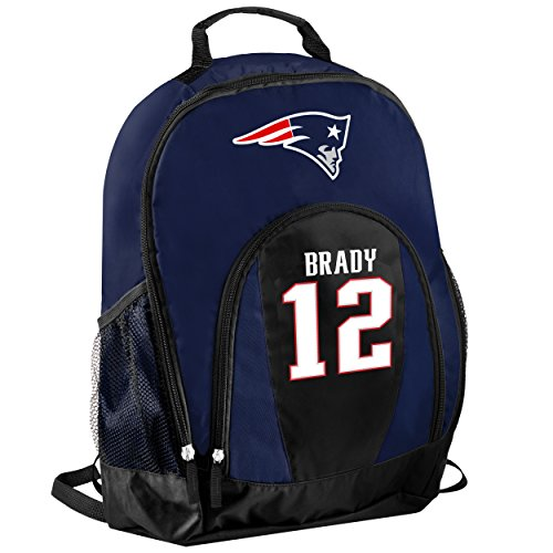 FOCO New England Patriots Tom Brady #12 Primetime Backpack