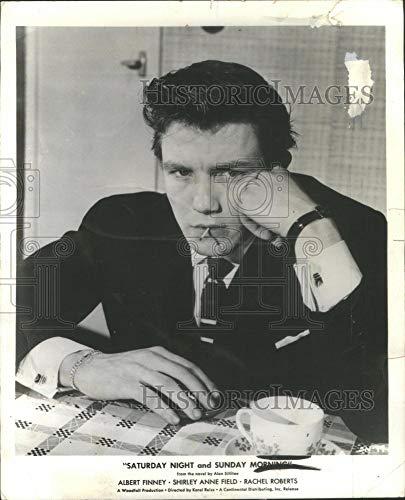 Historic Images - 1961 Vintage Press Photo Albert Finney English Film & Television Actor- RSA65567