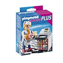 Girl of Playmobil Special plus cashier