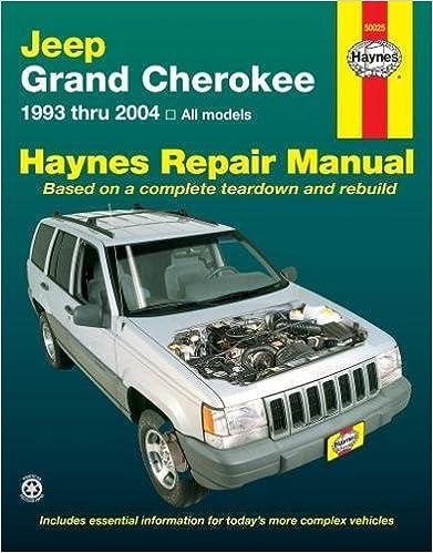 Haynes Repair Manual: Jeep Grand Cherokee, 1993 thru 2004- All ...