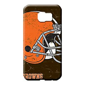 samsung galaxy s6 edge - Ultra Top Quality High Grade cell phone carrying skins cleveland browns nfl football