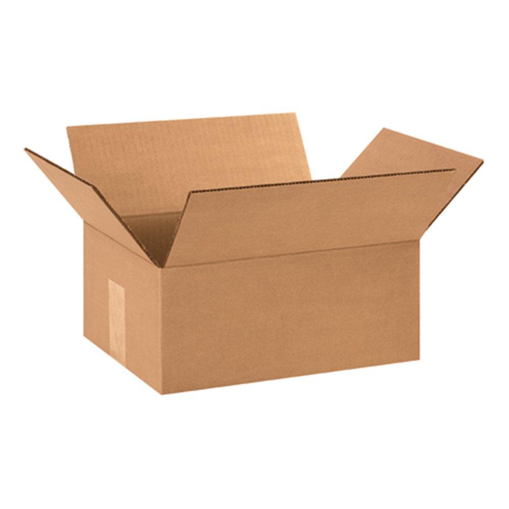 Aviditi 1295 Corrugated Box, 12'' Length x 9'' Width x 5'' Height, Kraft (Bundle of 25) by Aviditi
