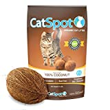 CatSpot Litter - 100% Coconut Cat Litter: All-Natural - Lightweight & Dust-Free