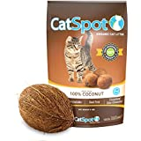 CatSpot Litter, 100% Coconut Cat Litter: All-Natural, Lightweight & Dust-Free (1 Bag)
