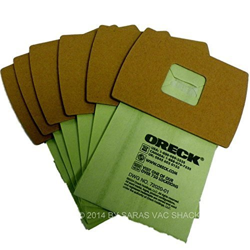 Genuine Oreck XL Buster B Canister Vacuum Bags PKBB12DW Housekeeper Bag 6 Pack - Fits Oreck Buster