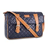 """Caison 12.5"""" 13.3"""" 14"""" Laptop Sleeve Case Classic Notebook Shoulder Messenger Bag Protective Skin Cover Apple 13 inch MacBook Air 12.9"""" iPad Pro (Blue)"""