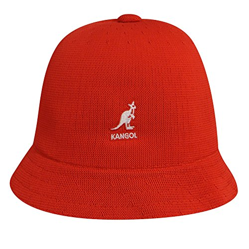 Kangol 1804KK Kids Tropic Casual Hat, Ketchup-L (Kids Red Bucket Hat)