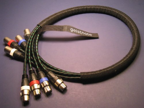 Ebu Snake - Geistnote's Evidence Audio Lyric HG XLR (AES/EBU rated) Snake (15 foot) 4 cables