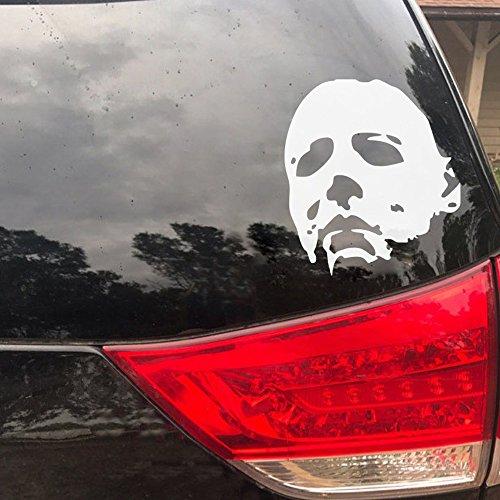 Michael Myers Decal Car Window Maribeatty Halloween Horror Decorations Wall Art (Car Halloween)
