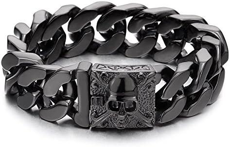 COOLSTEELANDBEYOND Stainless Bracelet Gothic Polished product image