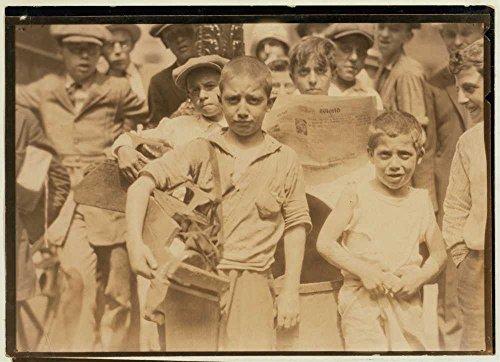 1924 Photo Bootblacks in and around City Hall Park, New York City - July 25, 1924. Location: New York, New York (State) Location: New York