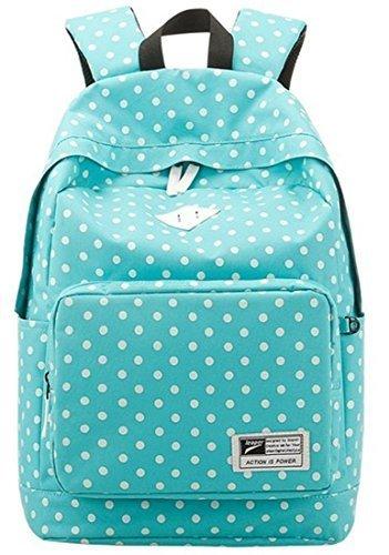 Sealike Lightweight Casual Daypack Backpack for College Bookbag for Women Girls School Bags Blue