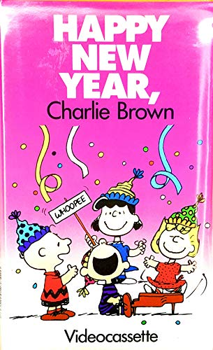 Happy New Year, Charlie Brown! [VHS]