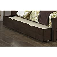 NE Kids Highlands Trundle in Espresso