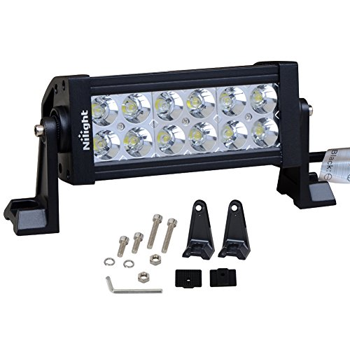 Nilight LED Light Bar 12v Driving Lights Off Road Work Light Super Bright