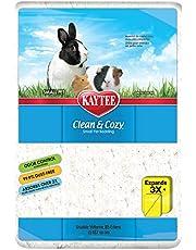 Kaytee Clean & Cozy White Bedding 85 Litre, White