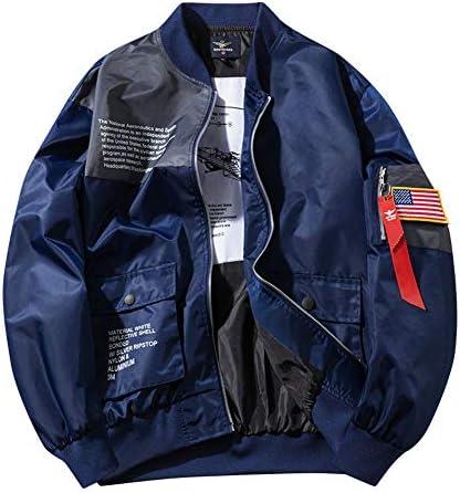 チーアン Tiann MA-1ジャケット メンズ フライトジャケット ブルゾン ジャンパー ミリタリー アウター パーカー スタジャン 春 秋 冬