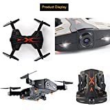 SZJJX-RC-Drones-Foldable-Remote-Control-Wifi-Quadcopter-FPV-VR-Helicopter-24GHz-6-Axis-Gyro-4CH-with-Wide-Angle-2MP-HD-Camera-Light-RTF-SJ112W