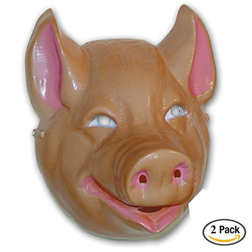 Rubie's Costume Co Animal Mask-Pig Costume, 2 (Pig Mask Costumes)