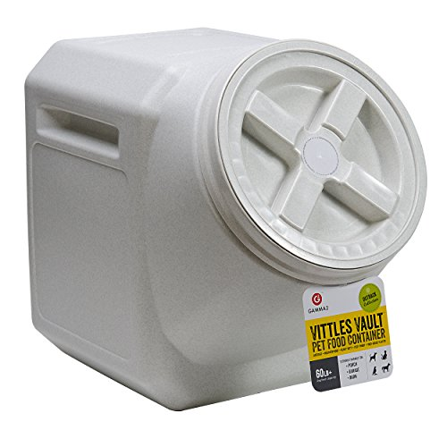 - Vittles Vault Outback Stackable 60 lb Airtight Pet Food Storage Container